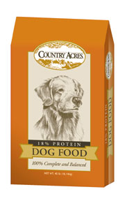 Country Acres Dog Food
