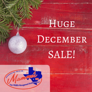 Save Big during Mumme's December Savings Sale