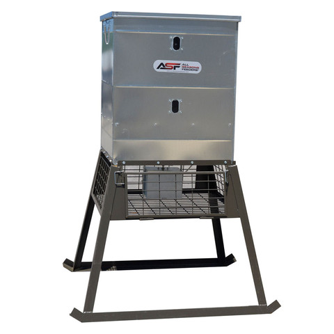 All Seasons 600# Stand & Fill Feeder