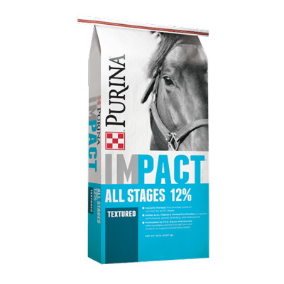 Impact All Stages 12% Textured Horse Feed