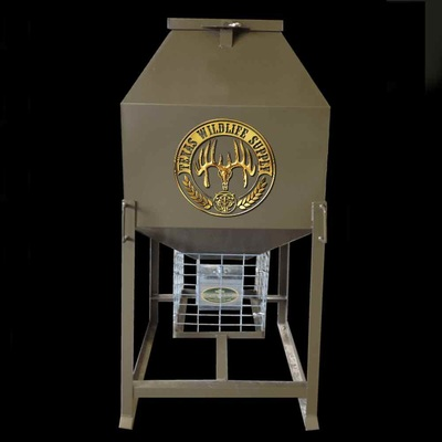Texas Wildlife Supply 600# Stand & Fill broadcast feeder
