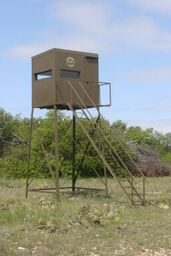 Deer Hunting Blind and Stands